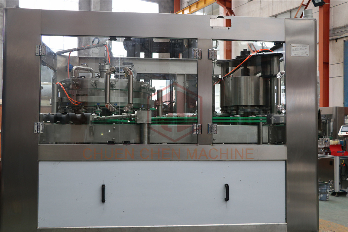 Small Scale Beverage Can Filling Machine For Beer And Coca Cola , Pepsi Drink